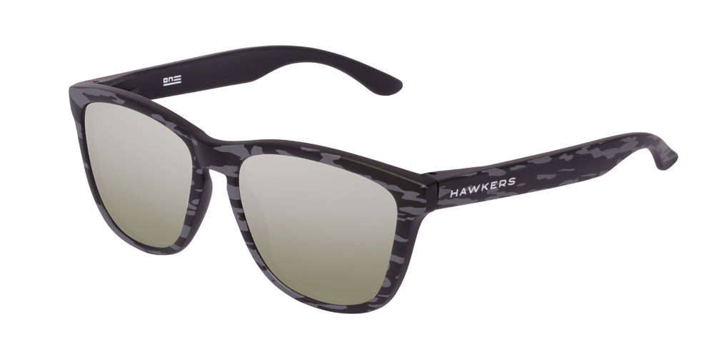 Hawkers Black Camo Light Gold One